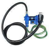 Electric Diesel  Gasoline Fuel Transfer Pump Kit, 12 Volts & 20GPM