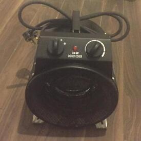 3kw electric heater fireball turbo fan