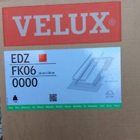 Velux tile flashing 66cm by 118cm new generation
