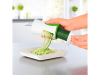 Veggetti 2.0 Vegetable Fruit Spiralizer Spiral Peeler Twister Cutter Slicer JML
