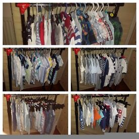 Boys baby clothes! Different sizes available! Excellent condition!
