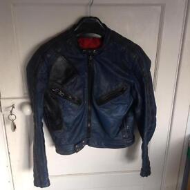 Vintage TT leathers motorcycle jacket