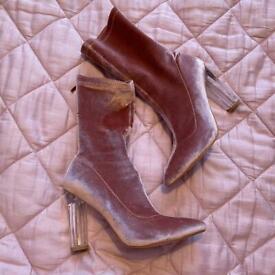 Simmi London pink boots