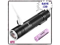 Mini Torch USB Rechargeable Flashlight
