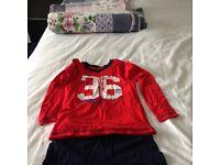 Boys pyjamas age 7-8