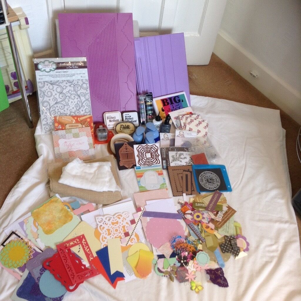 Card Making And Scrapbook Materials And Tools For Sale In