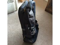 NEW - Lifeventure - Kohima - 35 LITRE - CARRY ON DUFFLE -2 wheels - with labels