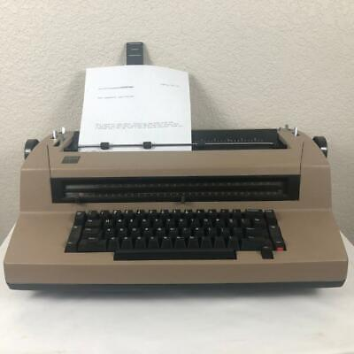 Ibm Selectric Iii Correcting Typewriter With With Dust Cover