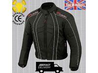 DryLite Motorbike Motorcycle Jacket Wind/ Waterproof CE Armours