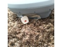 Remington Foot Spa, blue, VGC with removable Pumice stone & cord storage.The relaxing deep vibro ma