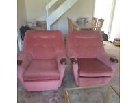Free 3 seater sofa + 2 chairs (Collection only)