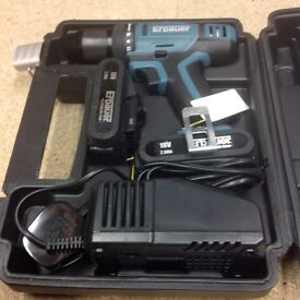 Brand new erbauer battery drill