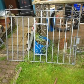 driveway gate both together = 2.8m long