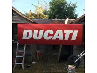 Ducati dealership sign