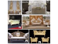 Throne Chair, Wedding Sofa, Dance Floor, Wedding Stage Decoration, Centre pieces, Led Dancefloor