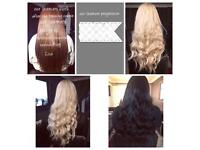 Become a hair Extensions stylist earn money