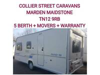 2009 Bailey ranger 550 /5 berth caravan+movers
