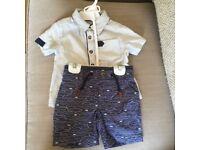 Baby shirt and shorts