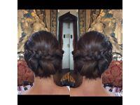 Bridal wedding hair specialist stylist