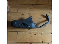 Scooter Exhaust. Fits Vespa ET2/4, LX 125/150