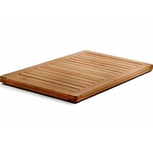 "NEW Bambusi BEL-FSM Floor and Shower Bamboo Mat - Measures 1"" x 23.75"" x 17.75"