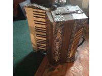 Accordian with new strap