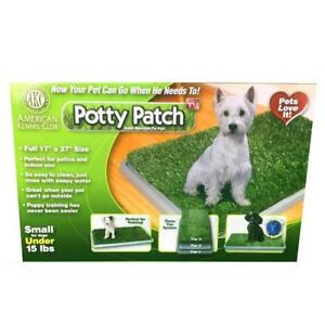 NEW Potty Patch Dog Potty  Replaces Wee Wee Pads  The Best Pet Turf Potty Training Tool