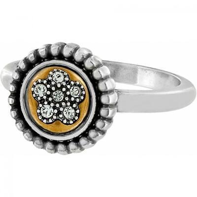 Brighton Sorrento two toned ring   Size 9  NWT