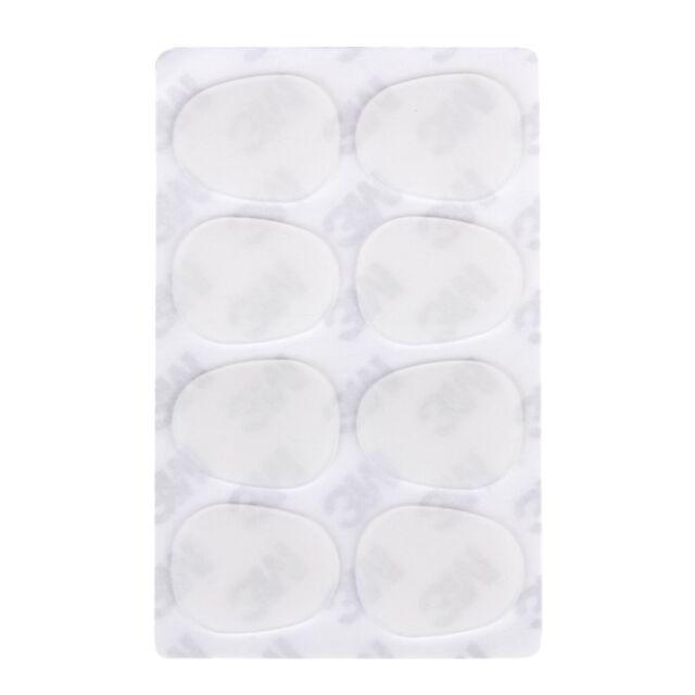 8pcs Alto/Tenor Sax Mouthpiece Patches Pads 0.8mm---Clear HY