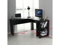 Black Corner Table