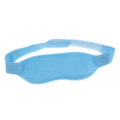 Blue Travel Gel Cooling Dry Eye Mask Cold Pack Warm Heat Cover Patch Pad Heat Packs Eye Cover