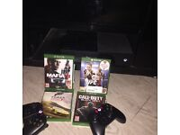 Xbox one,2 pads, 4 games including Mafia III and UFC2