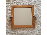 Bathroom Mirror set - oak