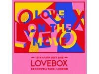 Lovebox Festival 2018 - SATURDAY 14 JULY