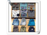 BOYS SUMMER CLOTHES BUNDLE AGE 4/5