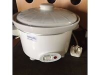 Haden slow cooker - suitable for 4 people