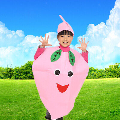 Fruit Costume For Kids (Adult Kids Fruit Suit for Children's Day Hallowmas Party Costume Fancy)
