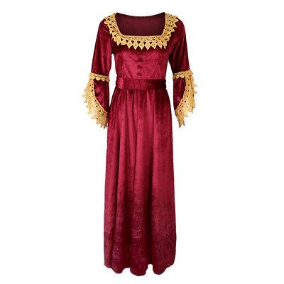 chen viktorianischen Kostüm Renaissance Flare Ärmel (Viktorianischen Kleider Kostüme)
