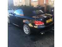 BMW 125i 3.0 M sport convertible not 116i 118d coupe, a1, a3 convertible