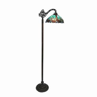 Stained Glass Victorian Reading Floor Lamp Chloe Lighting CH