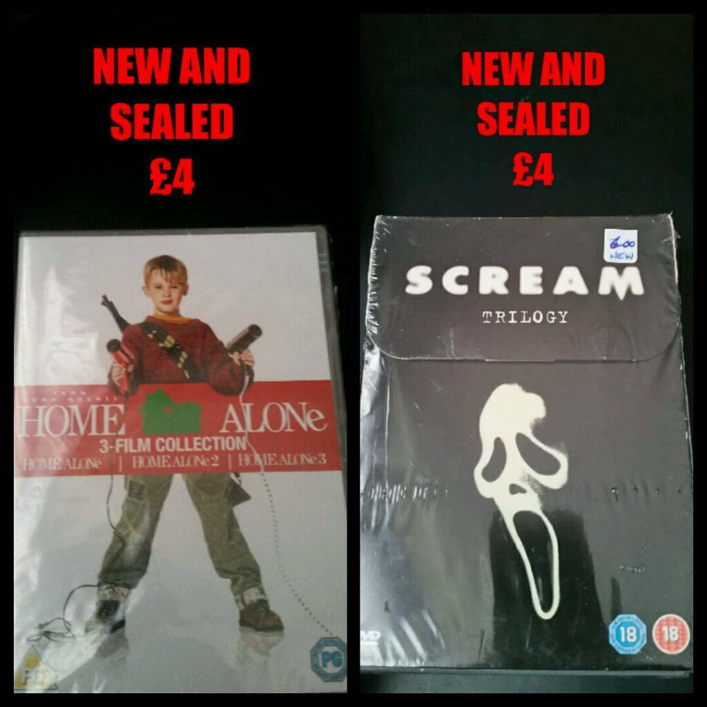 DVD BOXSETS AND TRIPLE PACKS