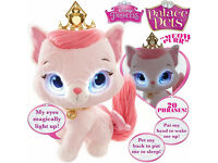 Disney Princess Palace Pets Bright Eyes Aurora Kitty,Pillow Pets Moshi MonsterPoppet,NewRapunzelDoll