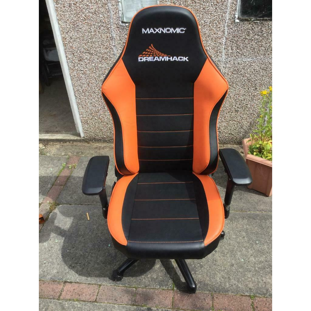 Fantastic Official Dreamhack Gaming Office Chair 50 Ono In Hamilton South Lanarkshire Gumtree Creativecarmelina Interior Chair Design Creativecarmelinacom