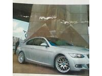 Silver 320i bmw m sport coupe