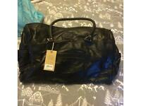 Real leather Travel Bag New with tags £15