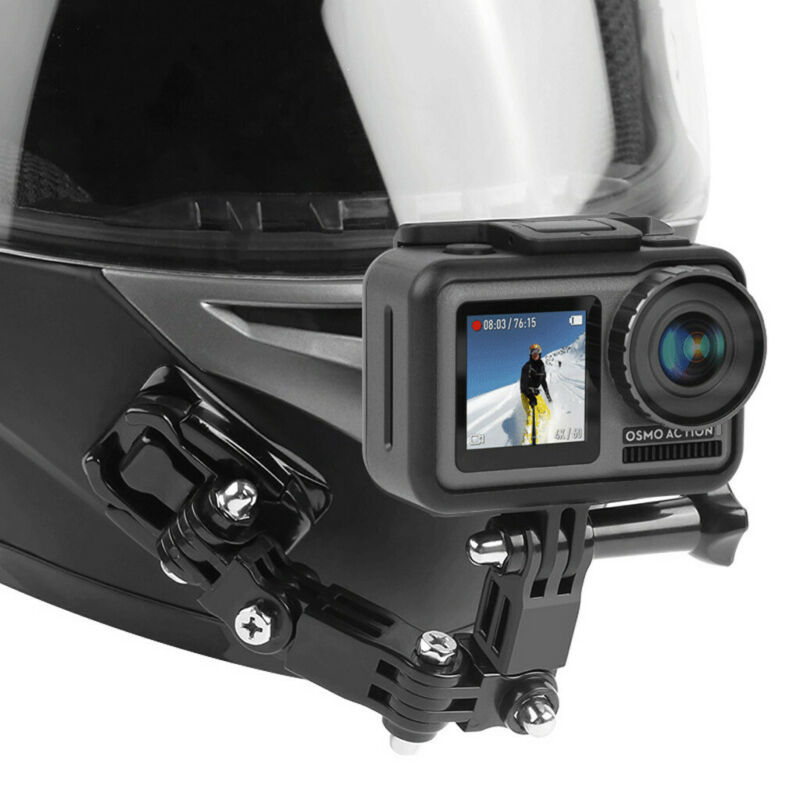For OSMO Action Camera Motorcycle Helmet Chin Bracket Turnta