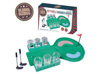 The 19th Hole Golf Drinking Game Adult Gift Set