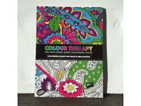 Colouring book: Colour Therapy - The Anti-stress Colouring Book