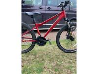 Red Correro bike
