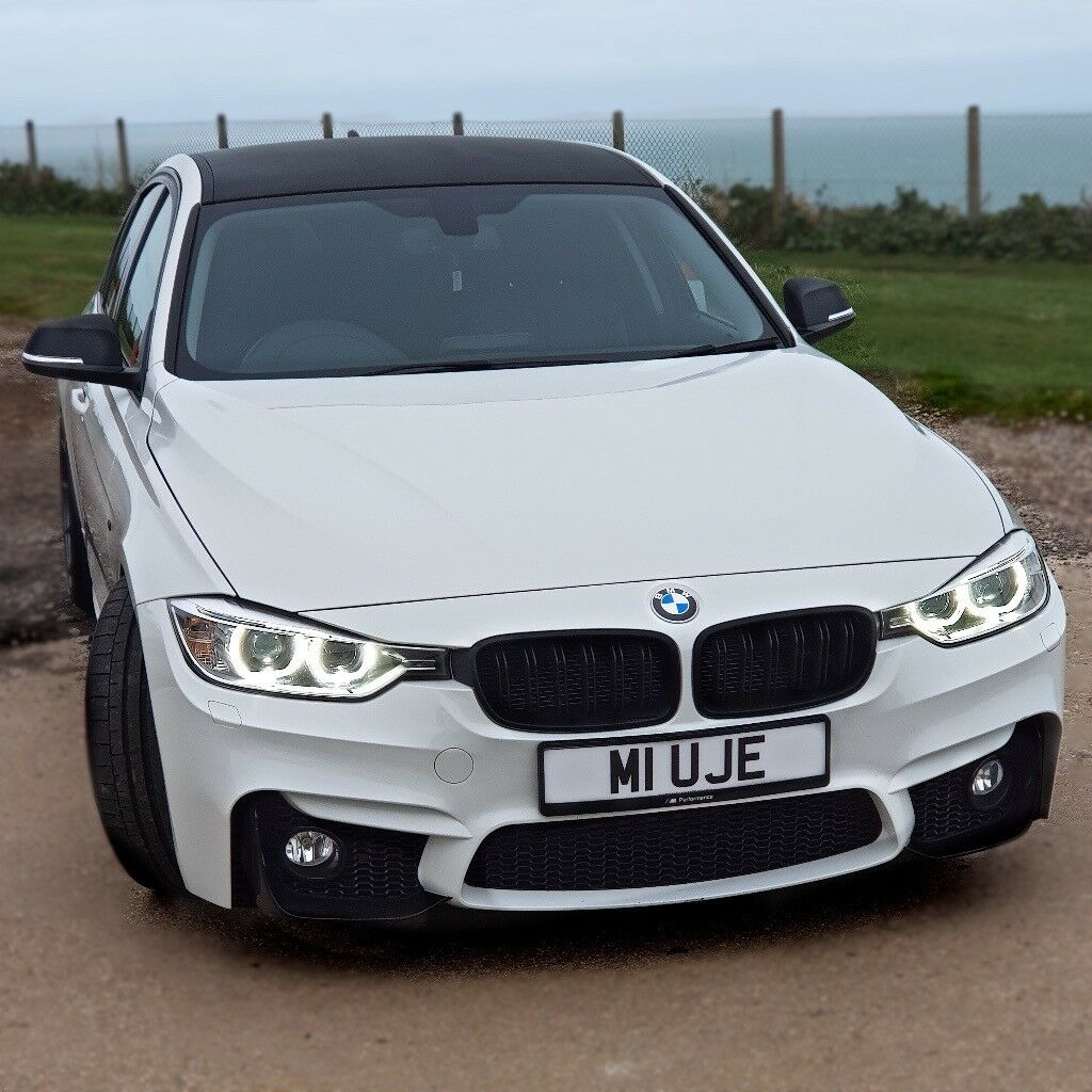 2012 Bmw F10 M5 Saloon Uk: BMW 320D F30 2012 WHITE M PERFORMANCE